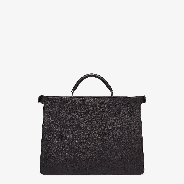 FENDI PEEKABOO ISEEU MEDIUM - Black leather bag - view 4 detail