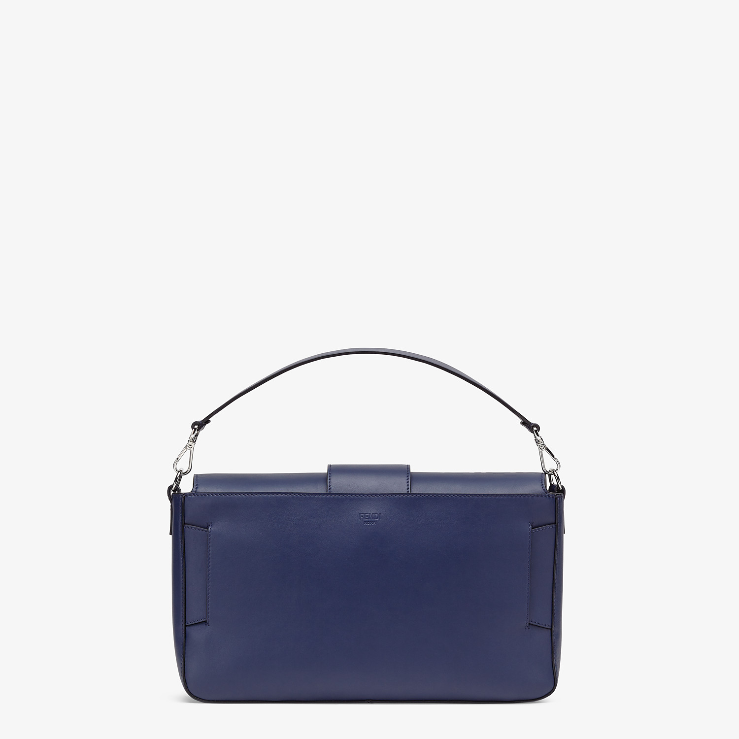 FENDI BAGUETTE LARGE - Blue calfskin bag - view 4 detail