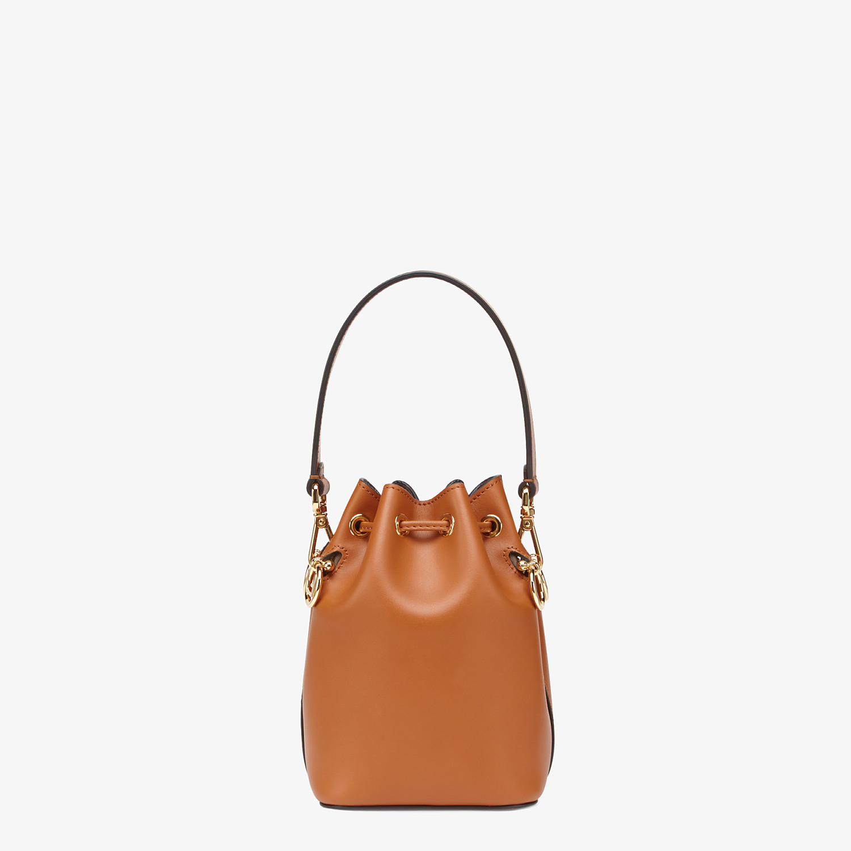 FENDI MON TRESOR - Brown leather mini-bag - view 4 detail
