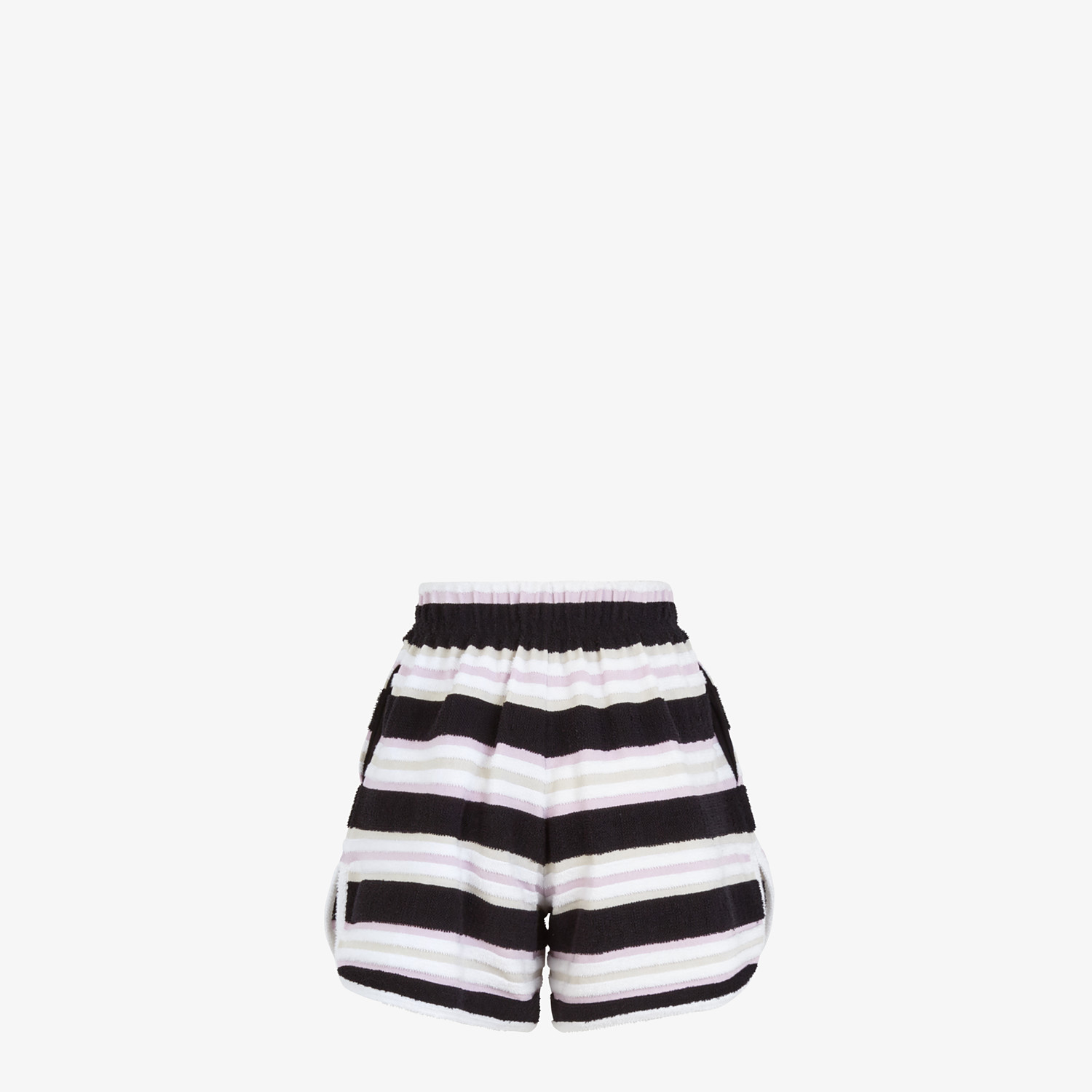 FENDI SHORTS - Multicolour cotton shorts - view 2 detail