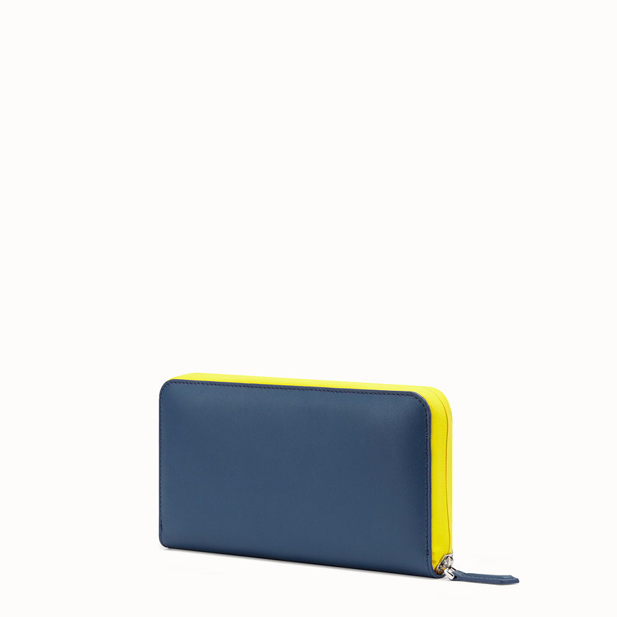 FENDI ZIP-AROUND - Multicolor leather wallet - view 2 detail
