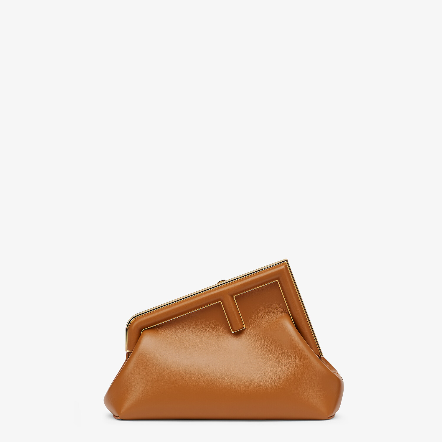 FENDI FENDI FIRST SMALL - Brown leather bag - view 1 detail