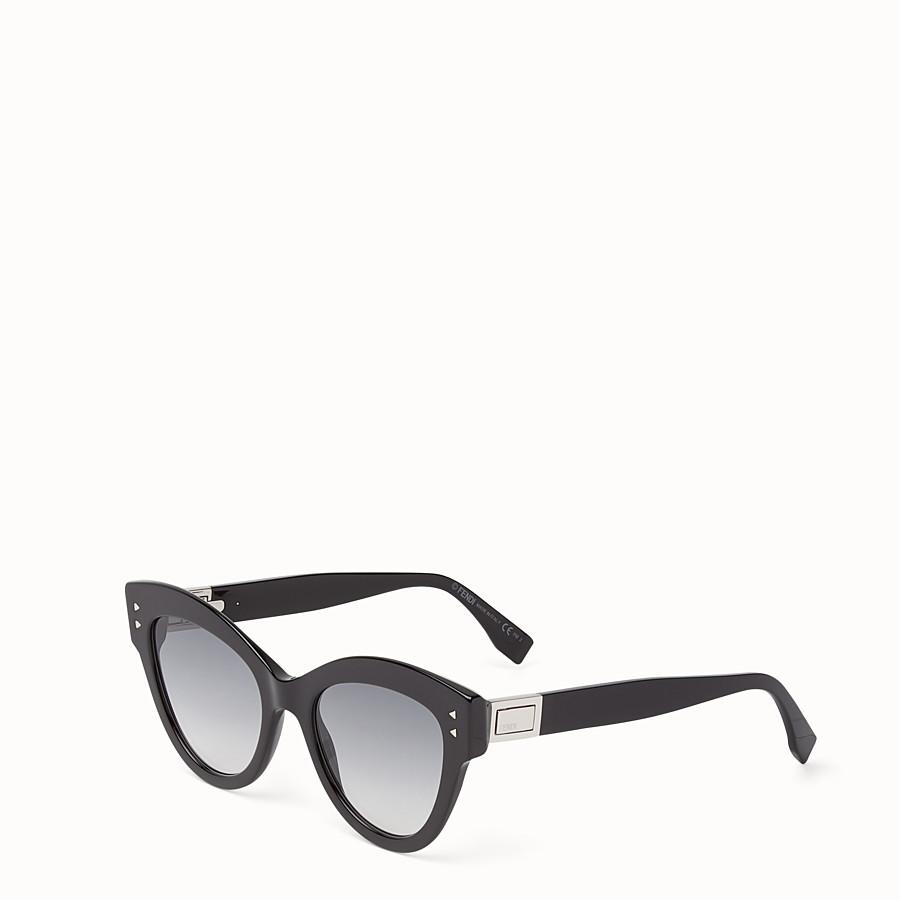 FENDI 피카부 - 블랙 컬러의 선글라스 - view 2 detail