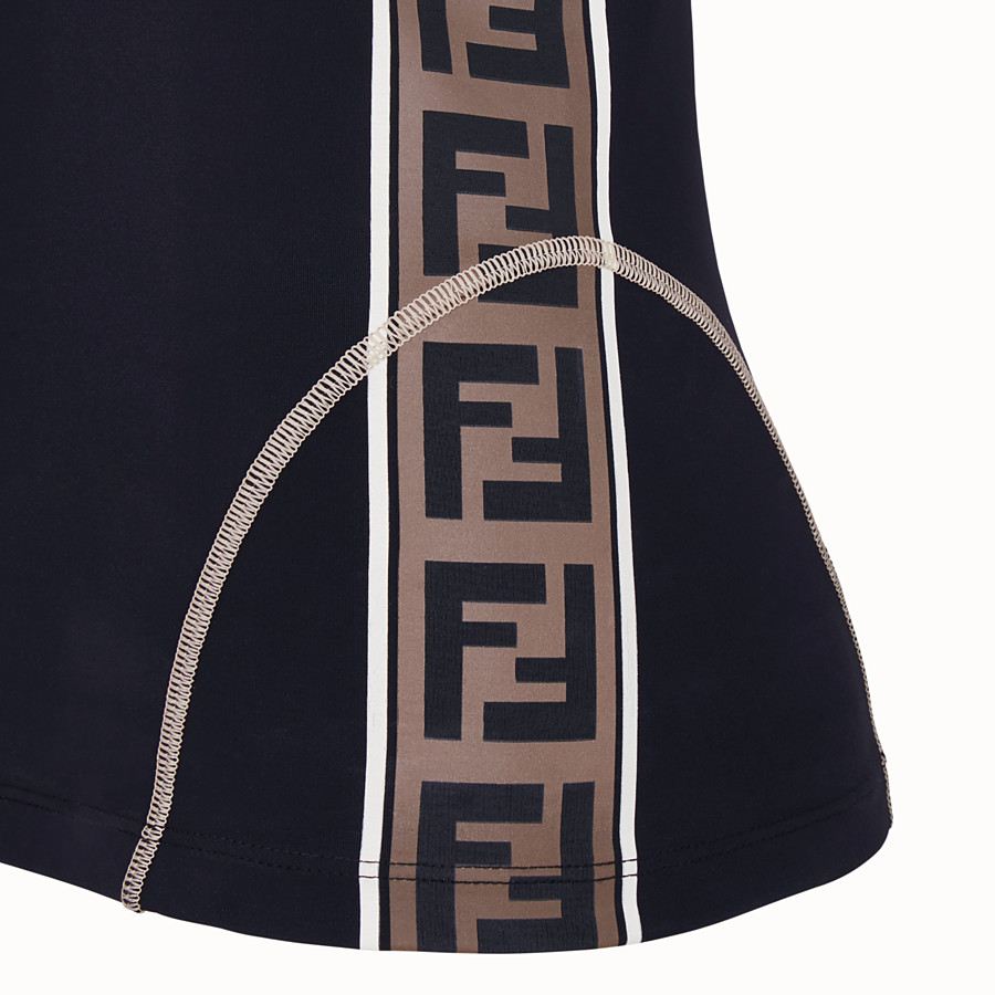 FENDI TOP - Black tech fabric top - view 3 detail
