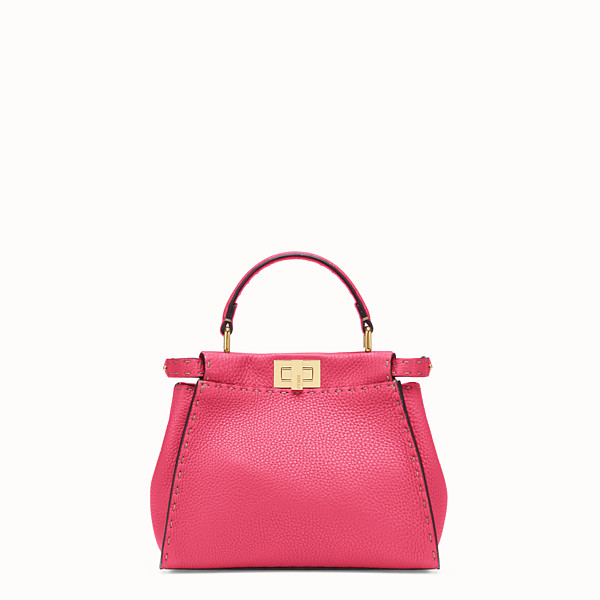 FENDI PEEKABOO MINI - Fendi Roma Amor leather bag - view 1 small thumbnail