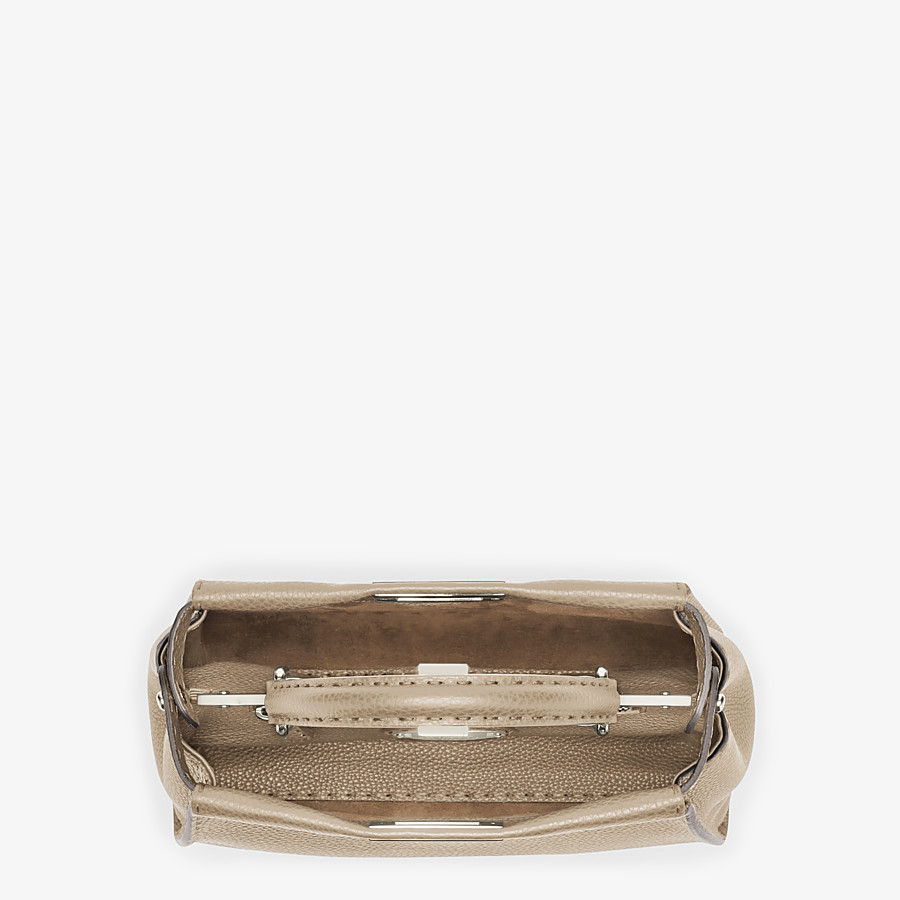FENDI PEEKABOO ICONIC MEDIUM - Beige Selleria handbag - view 5 detail