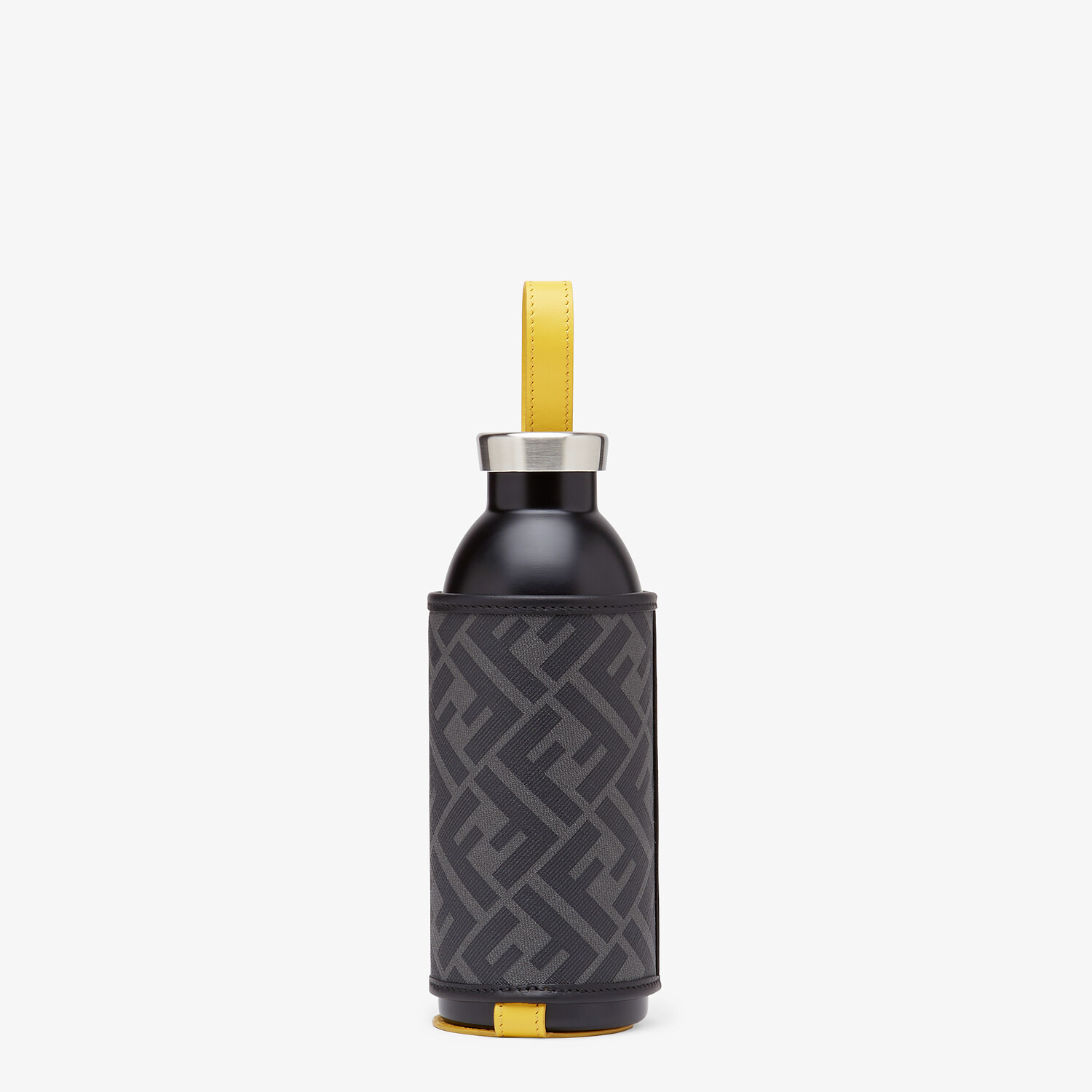 FENDI FLASK HOLDER - 24Bottles® flask with black fabric cover - view 1 detail