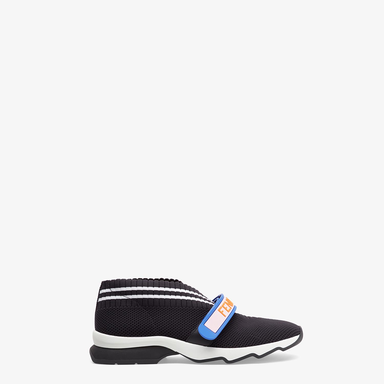 FENDI SNEAKERS - Black fabric sneakers - view 1 detail