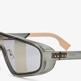 FENDI BOTANICAL FENDI - Sonnenbrille der Modenschau F/S20 in Grau - view 3 thumbnail