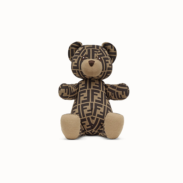 FENDI JERSEY FENDI BEAR WITH LOGO - FF Logo teddy bear - view 1 small thumbnail