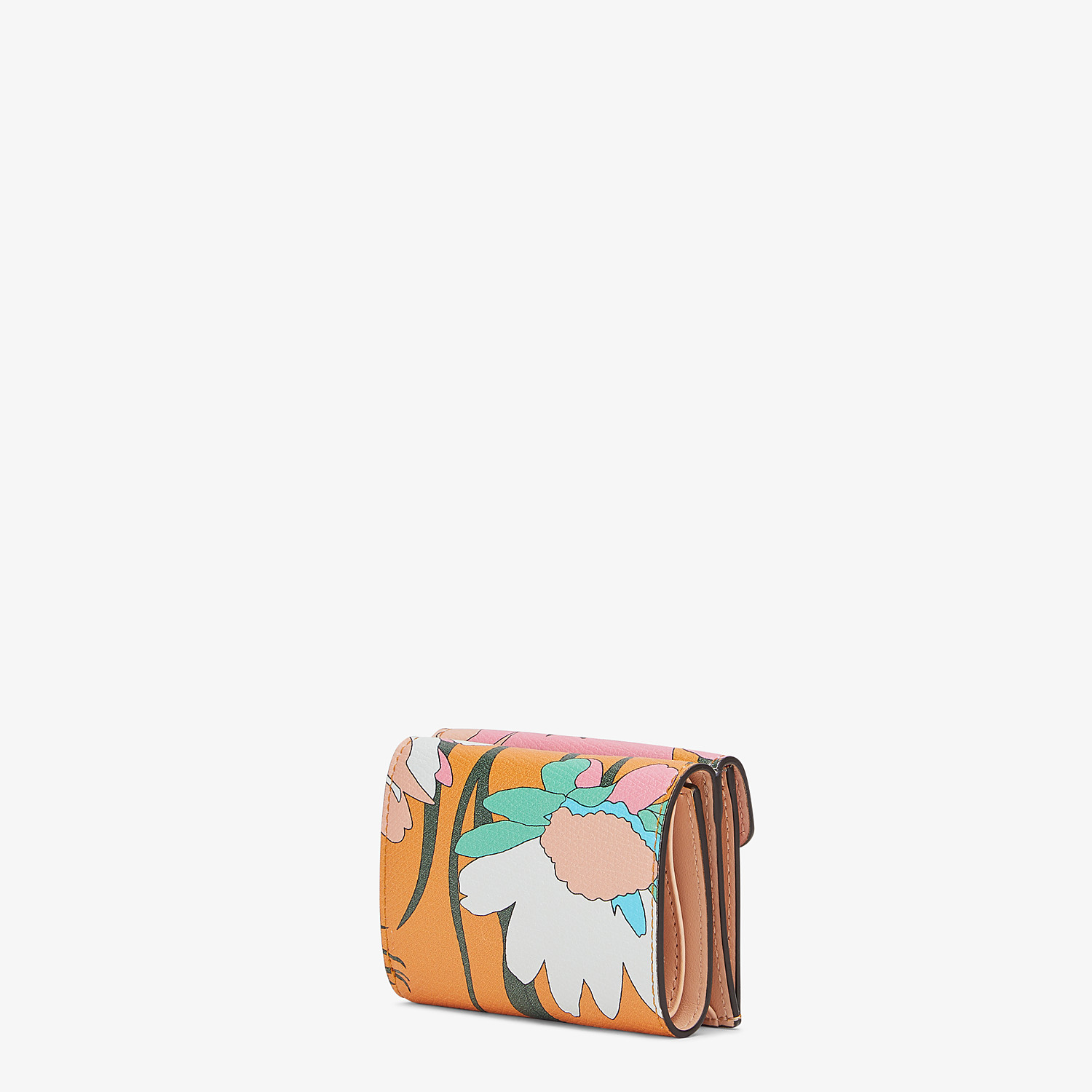 FENDI MICRO TRIFOLD - Multicolor leather wallet - view 2 detail