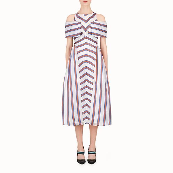 FENDI KLEID - Kleid aus Seide und Jacquard - view 1 small thumbnail