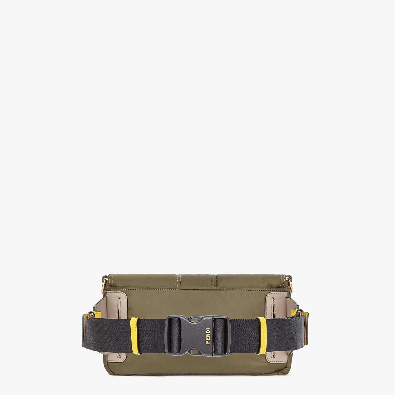 FENDI BAGUETTE - Green nylon bag - view 3 detail