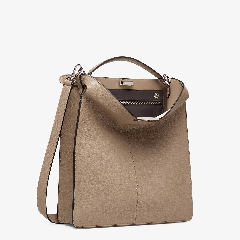 FENDI PEEKABOO ISEEU TOTE - Beige leather bag - view 4 detail