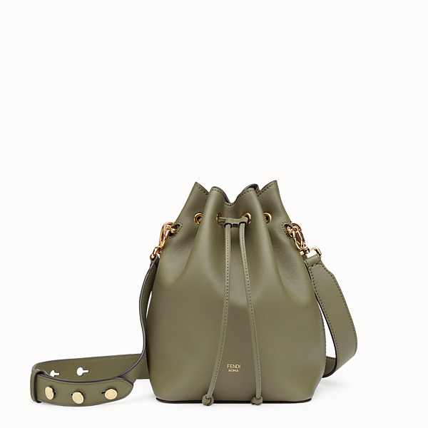 FENDI MON TRESOR - Green leather bag - view 1 small thumbnail