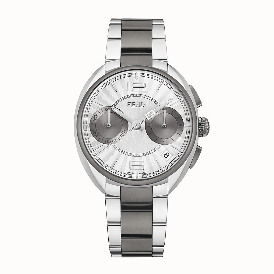 FENDI MOMENTO FENDI - 40 mm - Chronograph watch with bracelet - view 1 detail