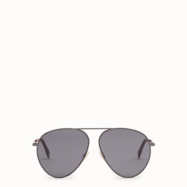 FENDI FENDI AROUND - Dark ruthenium sunglasses - view 1 small thumbnail