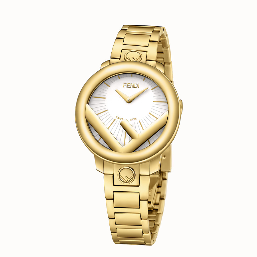 FENDI RUN AWAY - 28 mm - Watch with F is Fendi logo - view 2 detail