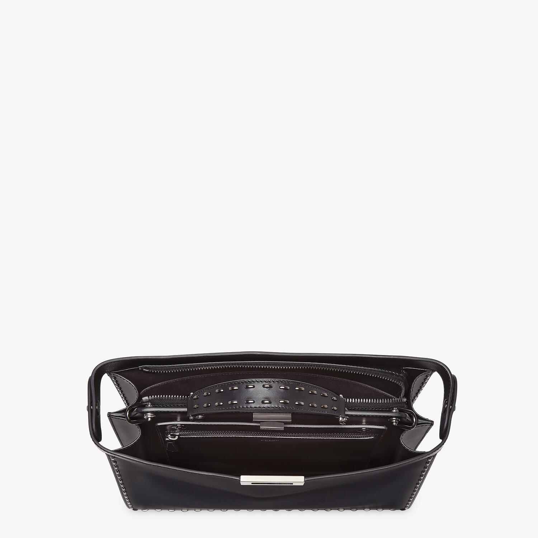 FENDI PEEKABOO ISEEU MEDIUM - Black leather bag - view 5 detail