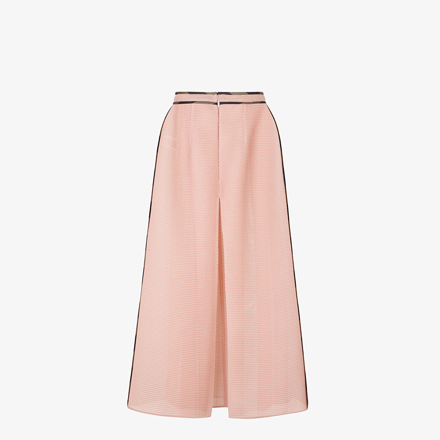 FENDI SKIRT - Skirt in pink tech mesh - view 2 detail