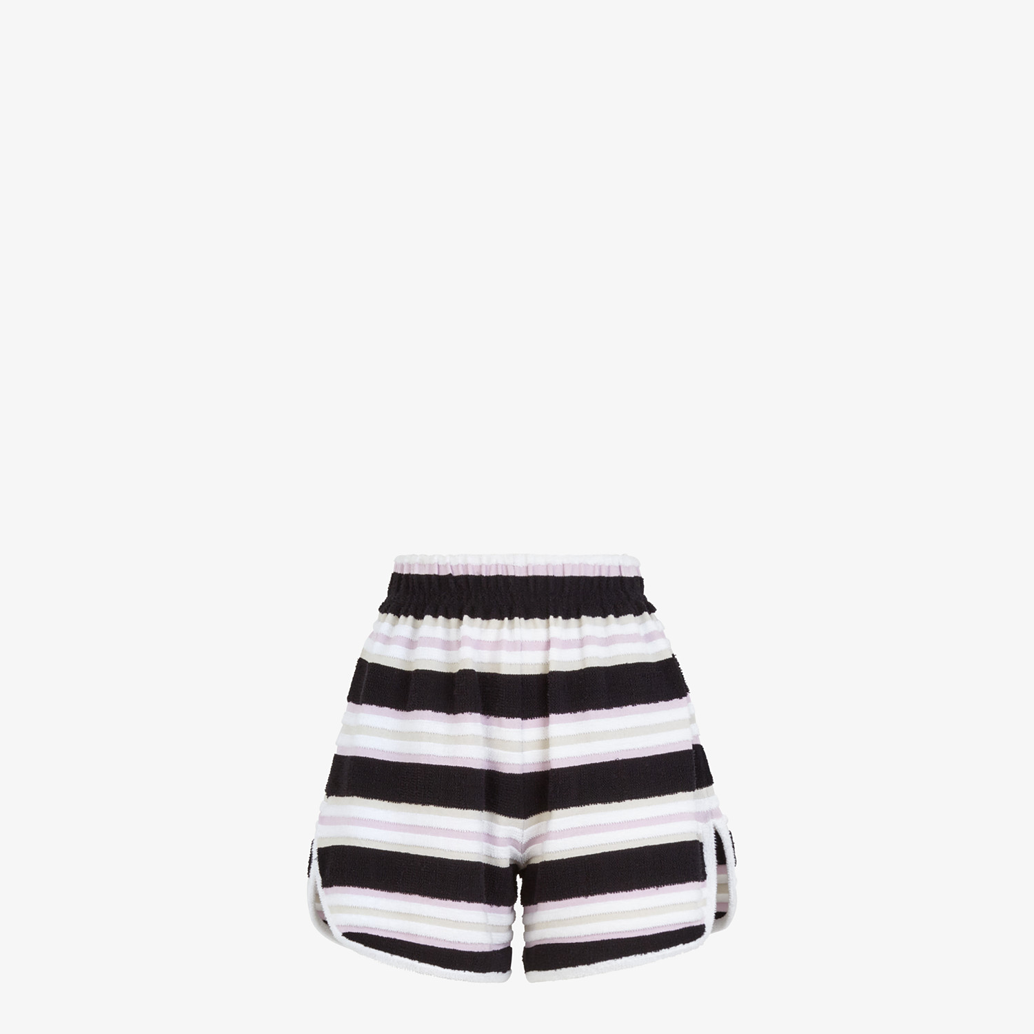 FENDI SHORTS - Multicolor cotton shorts - view 1 detail