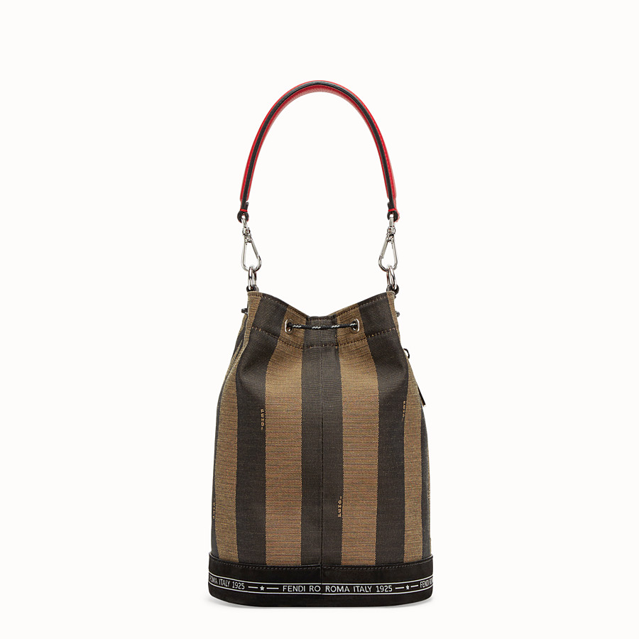 FENDI MON TRESOR - Small multicolour canvas bag - view 3 detail