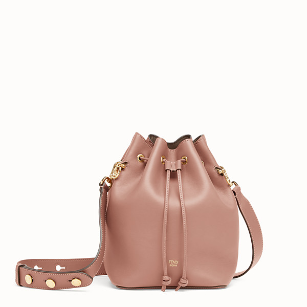 FENDI MON TRESOR - Pink leather bag - view 1 small thumbnail