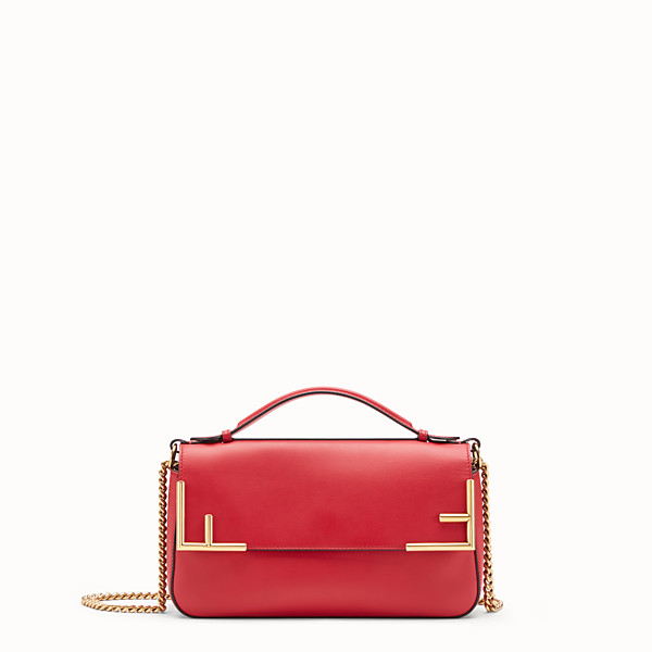 FENDI DOUBLE F - Multicolour leather and fabric bag - view 1 small thumbnail