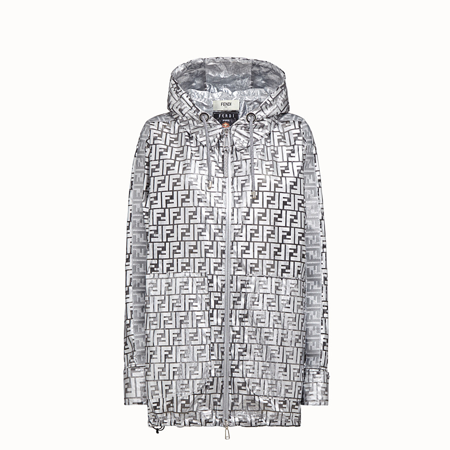 FENDI OVERCOAT - Fendi Prints On nylon raincoat - view 1 detail