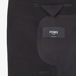 FENDI JACKET - Black wool blazer - view 5 thumbnail