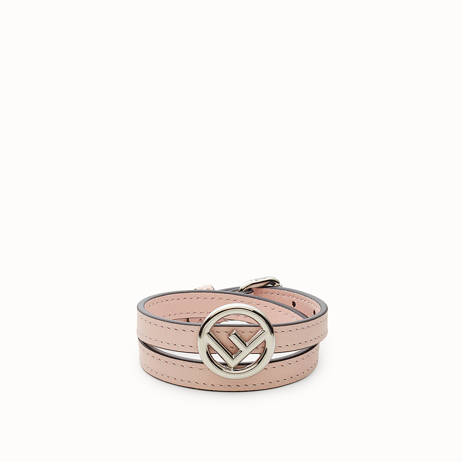 FENDI F IS FENDI BRACELET - Pink bracelet - view 1 detail
