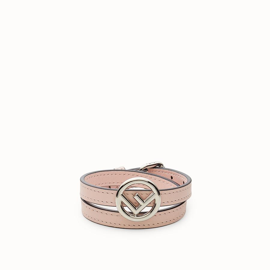 FENDI F IS FENDI BRACELET - Pink bracelet - view 1 detail