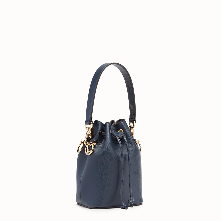FENDI MON TRESOR - Blue leather mini-bag - view 2 detail