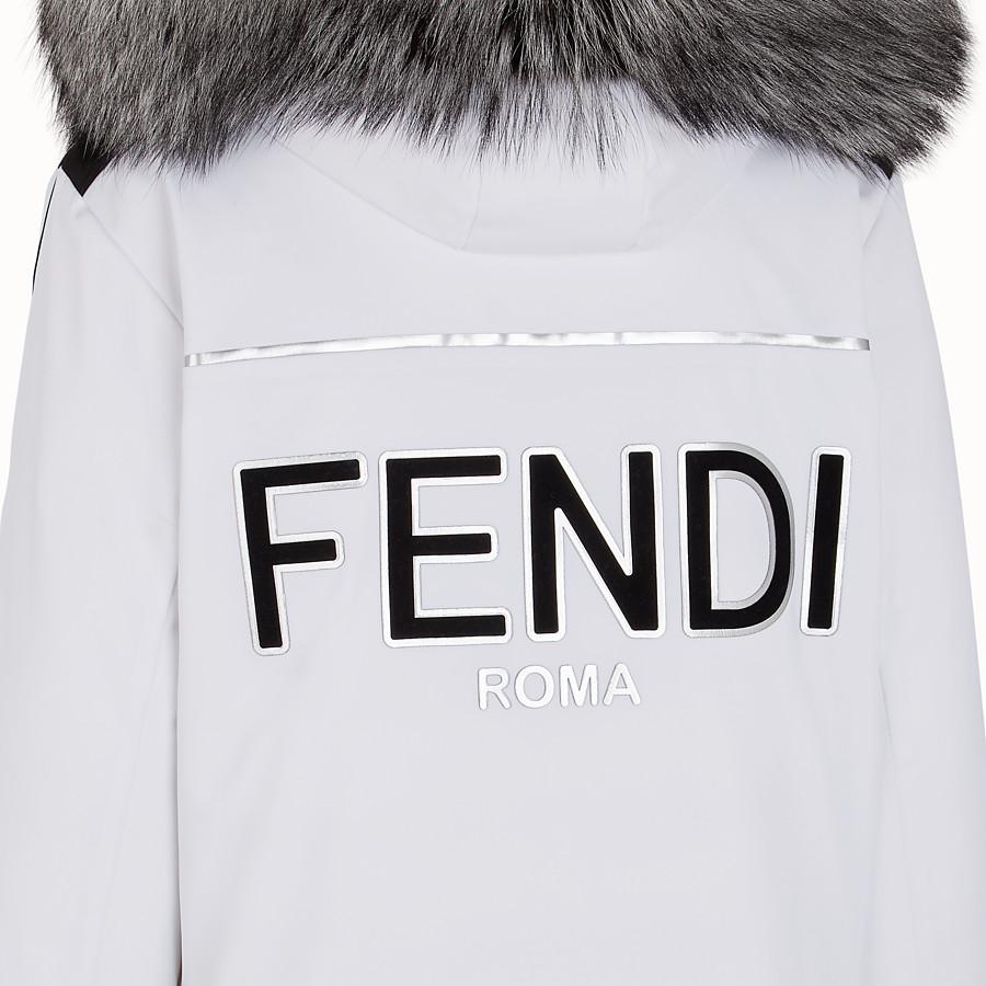 FENDI JACKE - Jacke aus technischem Gewebe in Weiß - view 3 detail