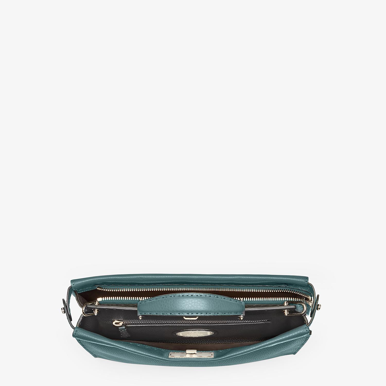 FENDI PEEKABOO ICONIC FIT - Green leather Selleria bag - view 4 detail