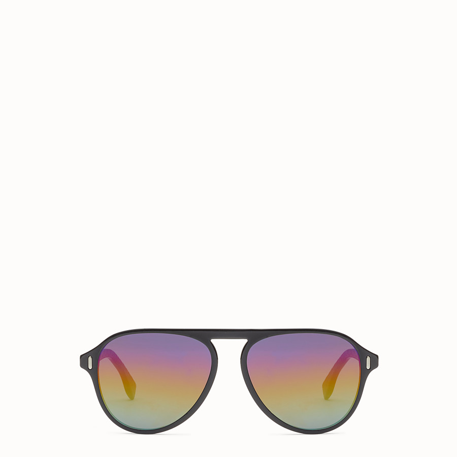 FENDI FENDI - Black and grey sunglasses - view 1 detail