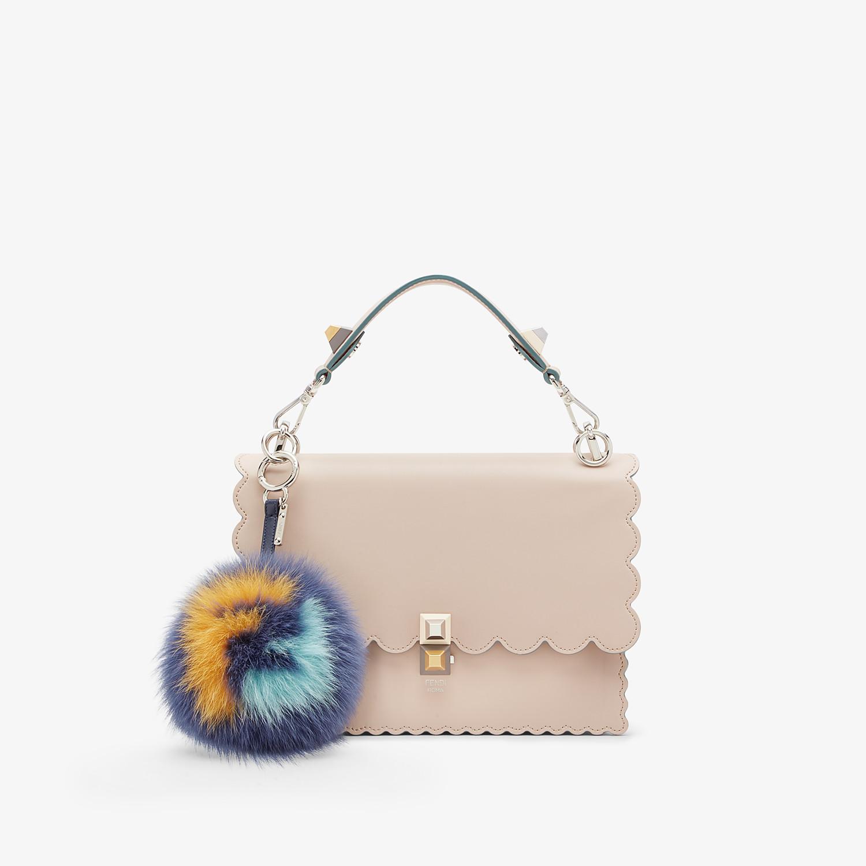 FENDI POM-POM CHARM - Multicolour fur charm - view 2 detail