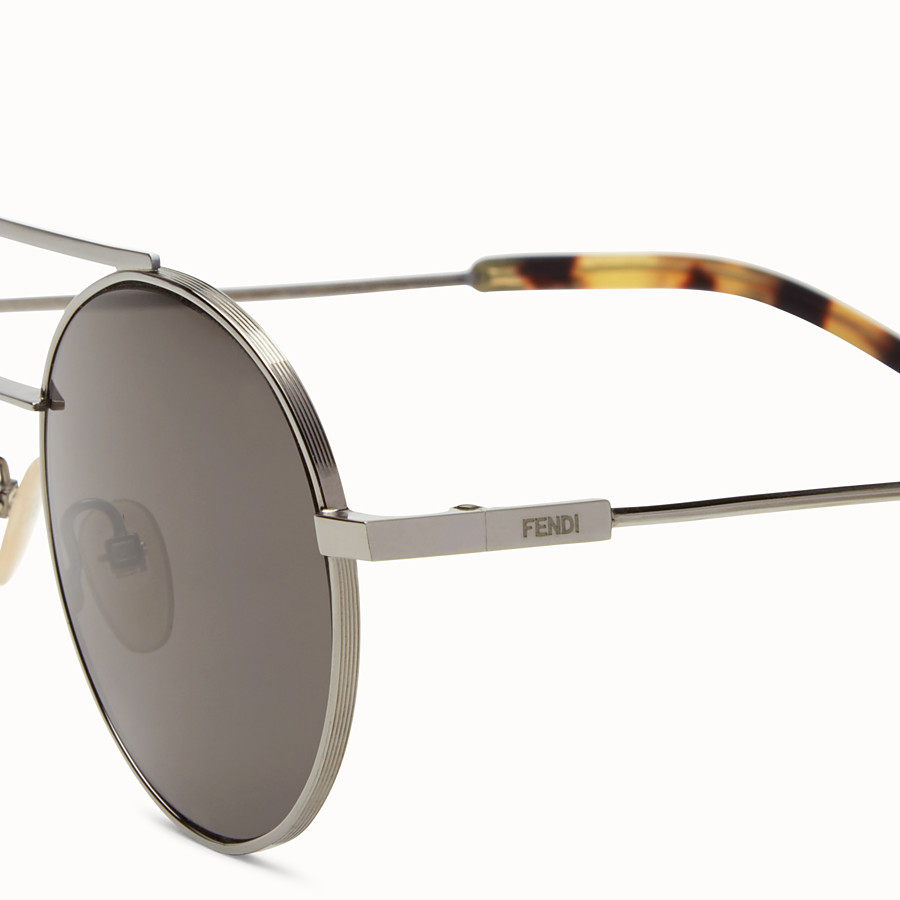 FENDI FENDI AIR - Ruthenium sunglasses - view 3 detail