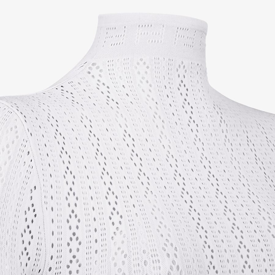 FENDI BODY - White lace body - view 3 detail