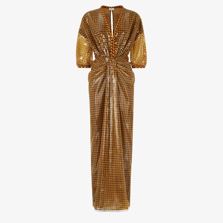 FENDI DRESS - Check sequin dress - view 1 detail
