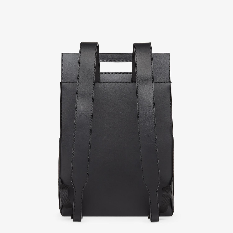 FENDI FENDI PACK BACKPACK - Black leather backpack - view 3 detail