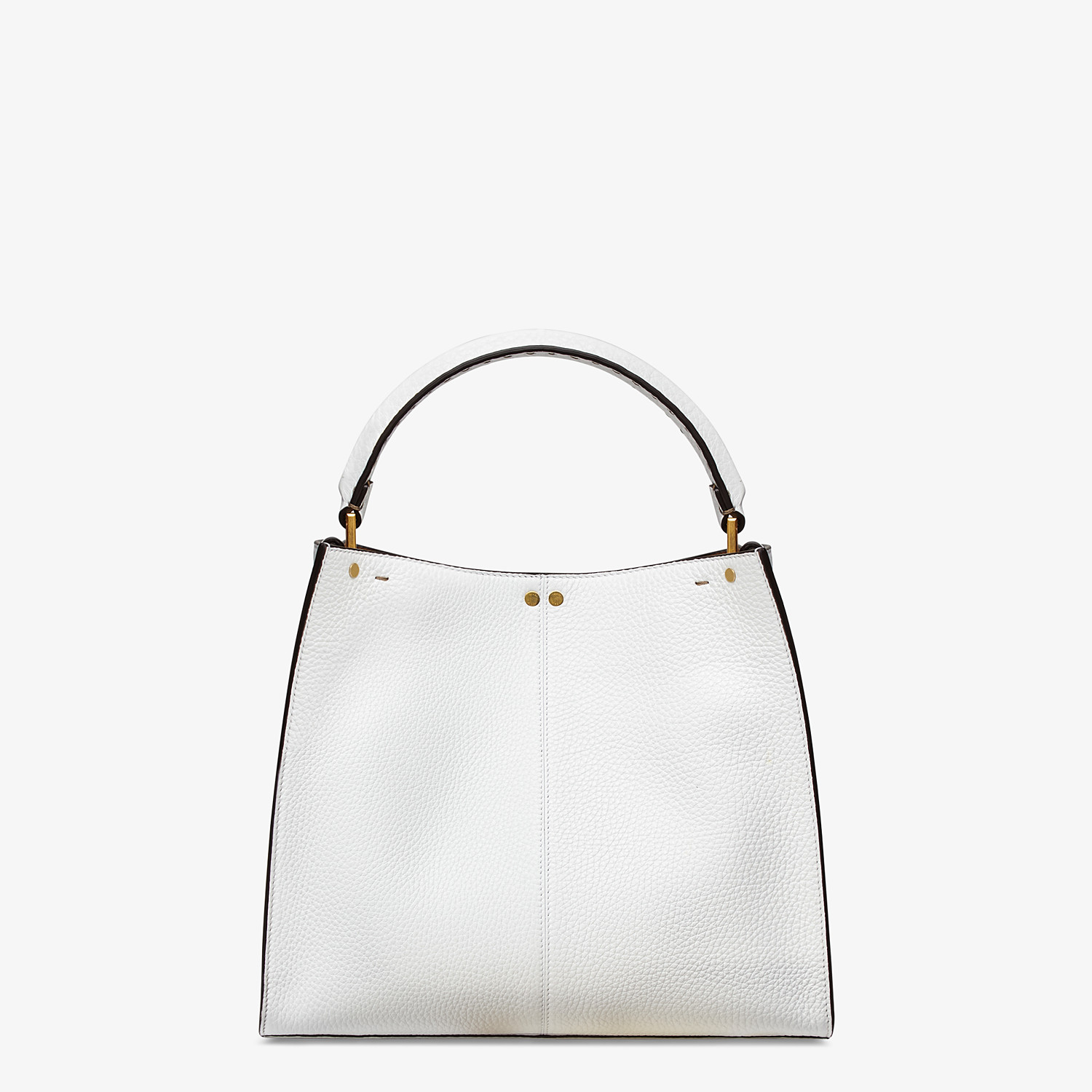FENDI PEEKABOO X-LITE MEDIUM - White leather bag - view 4 detail