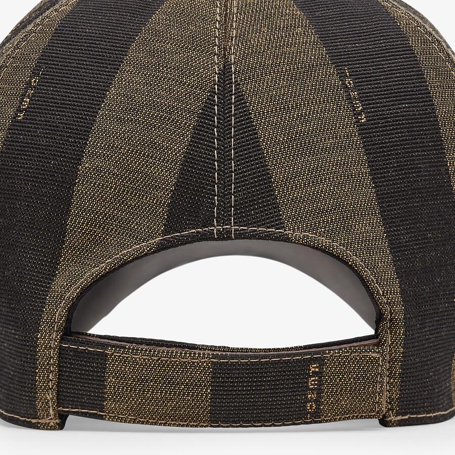 FENDI HAT - Brown fabric baseball cap - view 2 detail