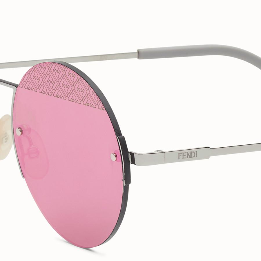 FENDI FF - Ruthenium sunglasses - view 3 detail