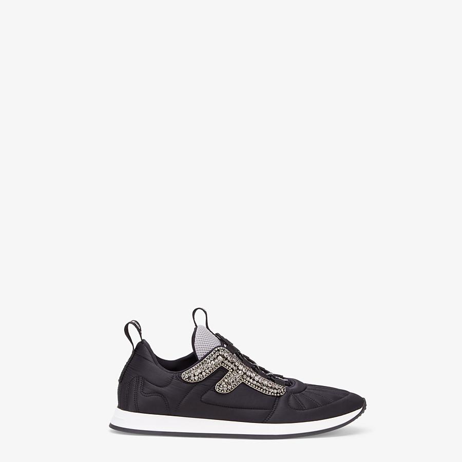 FENDI SNEAKERS - Sneaker aus Satin in Schwarz - view 1 detail