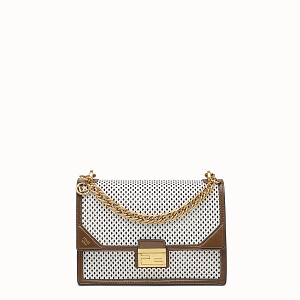 FENDI KAN U - White leather bag - view 1 small thumbnail