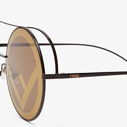 FENDI RUN AWAY - Gafas de sol marrones - view 3 thumbnail