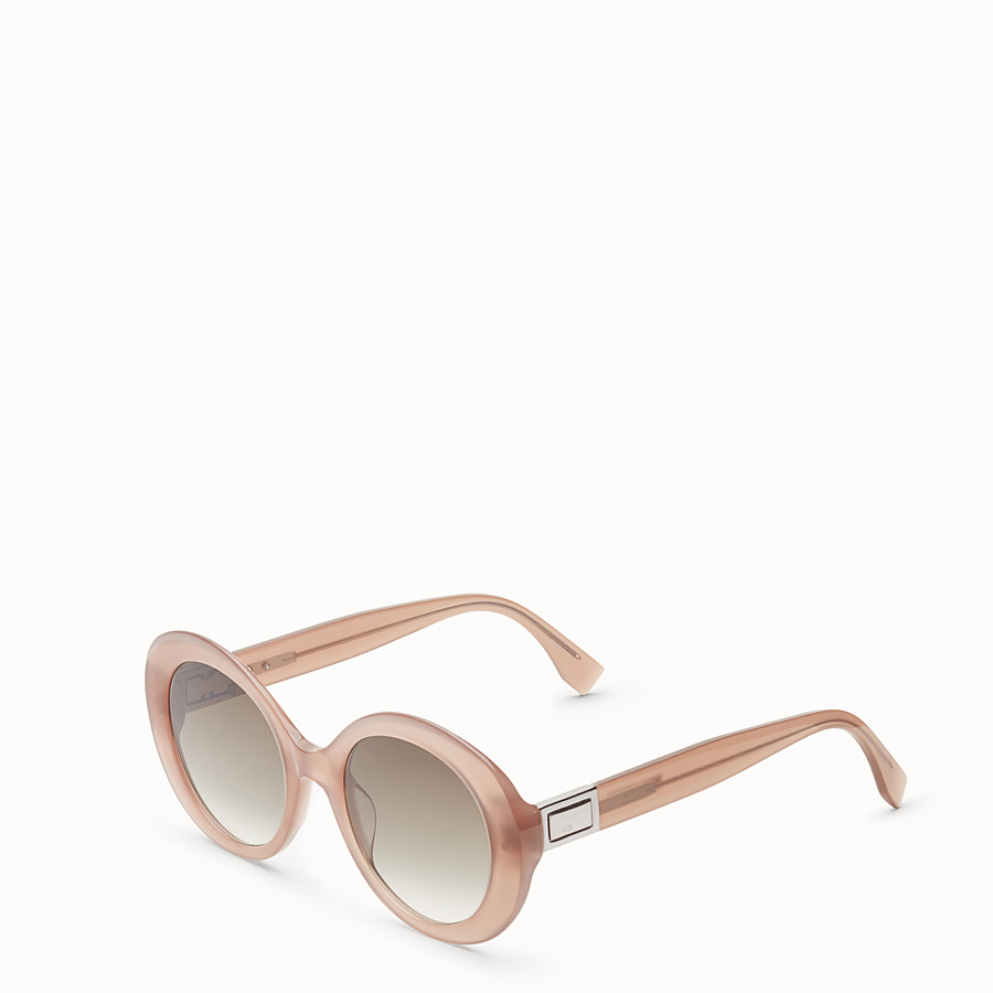 FENDI PEEKABOO - Brown sunglasses - view 2 detail