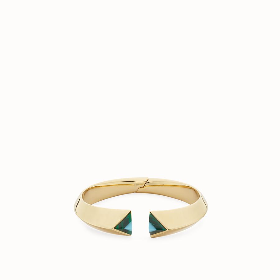 FENDI RAINBOW手環 - Rainbow金屬手環,裝飾寶石 - view 1 detail