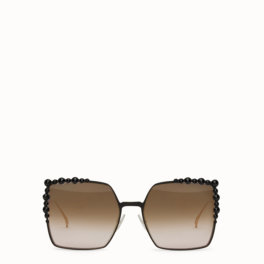 FENDI CAN EYE - Two-tone sunglasses - view 1 detail